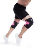 RX Knee-Sleeve 3mm - Black/Pink - L