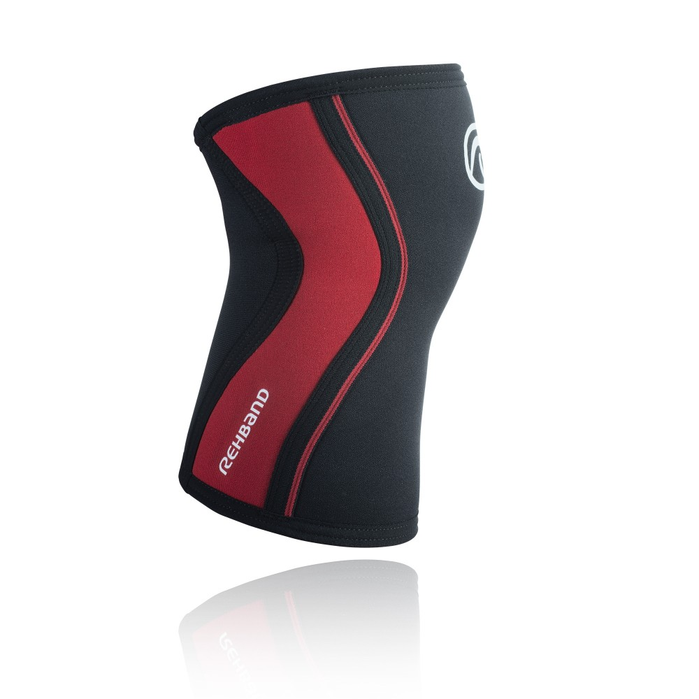 RX KNEE Sleeve, 3mm, Black/Red, M
