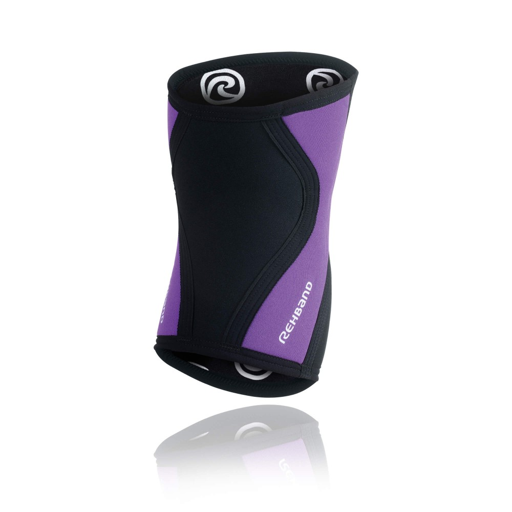 RX Knee Sleeve 3mm - Black/Purple - XXS