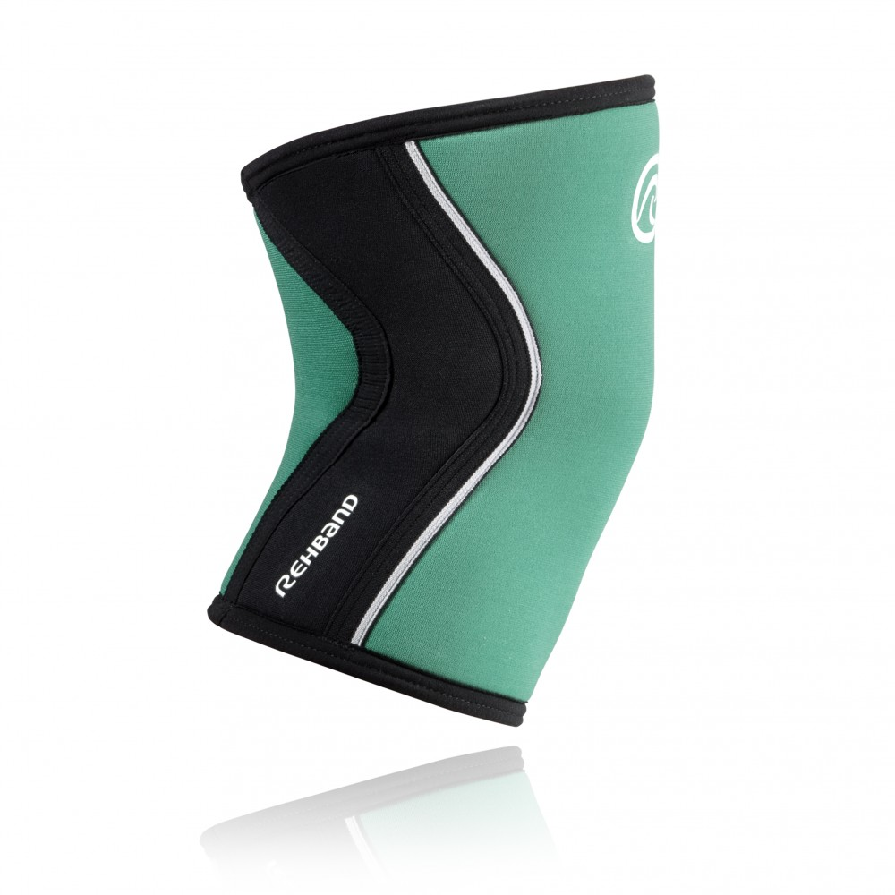 RX KNEE Sleeve 5mm EmeraldGreen/Black XL