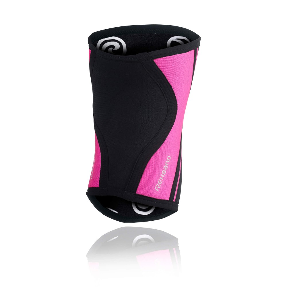 RX Knee Sleeve 5mm - Black/Pink - L
