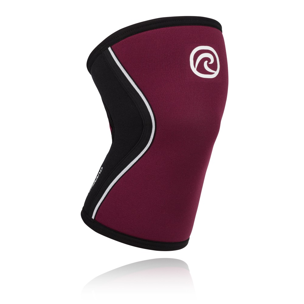 RX Knee Sleeve 5mm - Black/Burgundy - XXL
