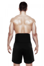 QD Back Support 3mm - Black - M